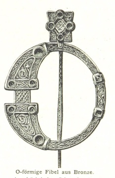 Bronze Cloak Pin Image 1896 The British Library Collection