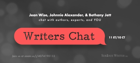 Writers Chat. Serious Writer inc.